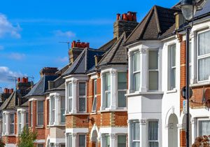 Property Conveyancing, Photo of terraced houses